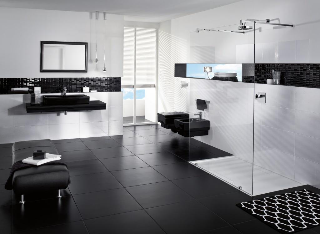 88 идей для ванной в черных тонах Черная ванная