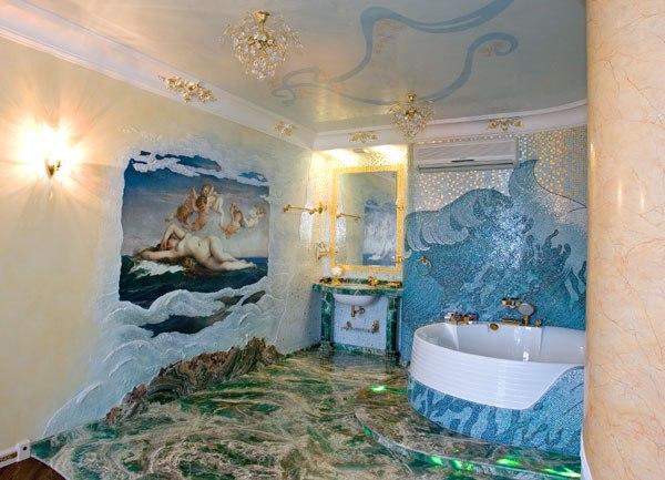 ванная в пвх фото
