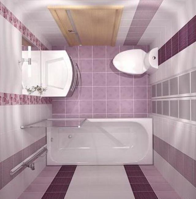 Планировка малогабаритных ванных комнат застряла в ванной комнате