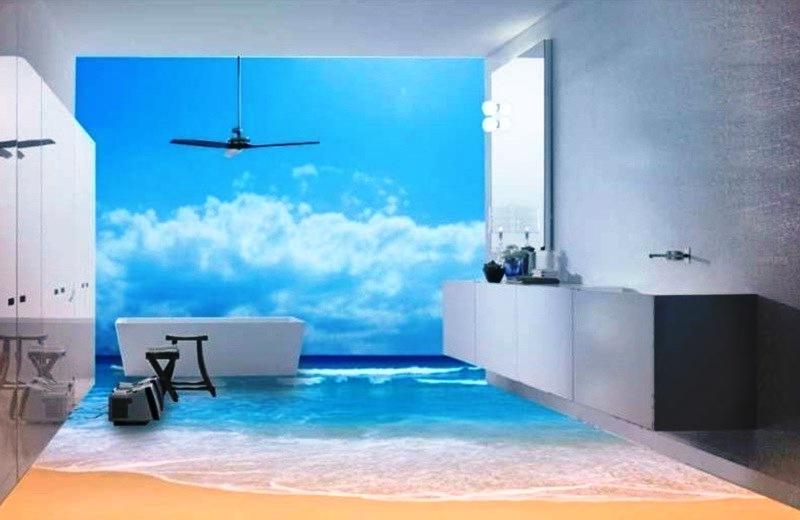 Цена на фотообои для ванной