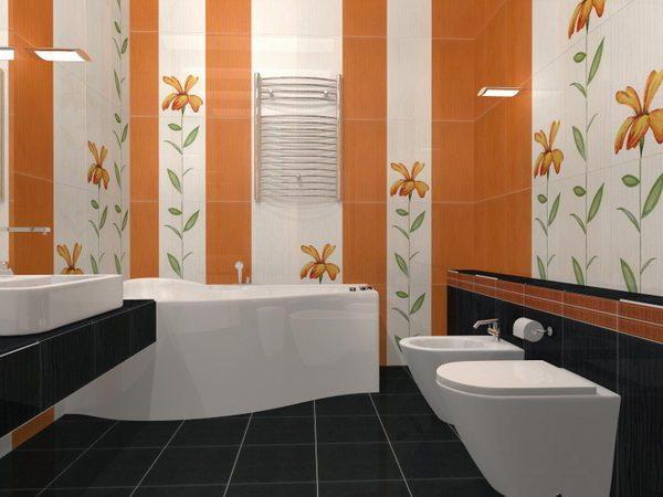 Образец ремонты ванной комнаты ванная комната плитка симферополь
