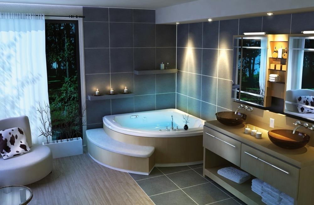 Как сделать дизайн ванной самому