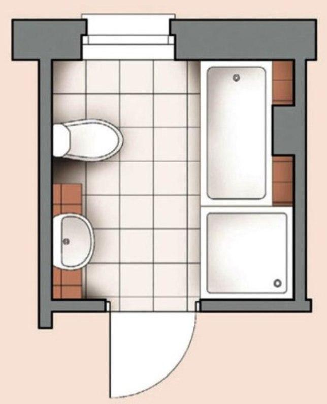 План размещения ванной комнаты технология отделки ванных комнат
