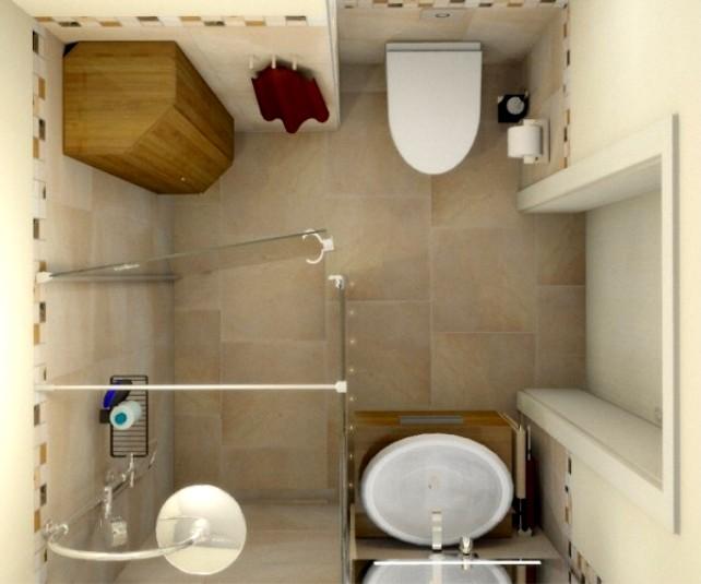 Дизайн кафельной плитки в ванной: Дизайн маленькой ванной комнаты