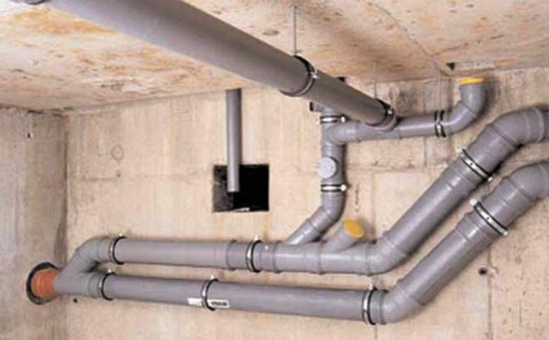 Как сделать слив к канализационной трубе 855