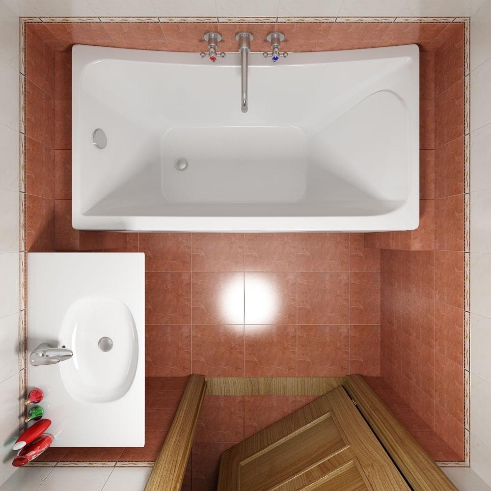 272Дизайн маленькой ванной комнаты фото 3 кв м