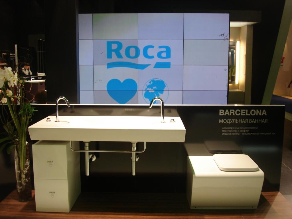 Roca - выставка MosBuild 2012 фото компании МИР САНТЕХНИКИ-Челябинск -7
