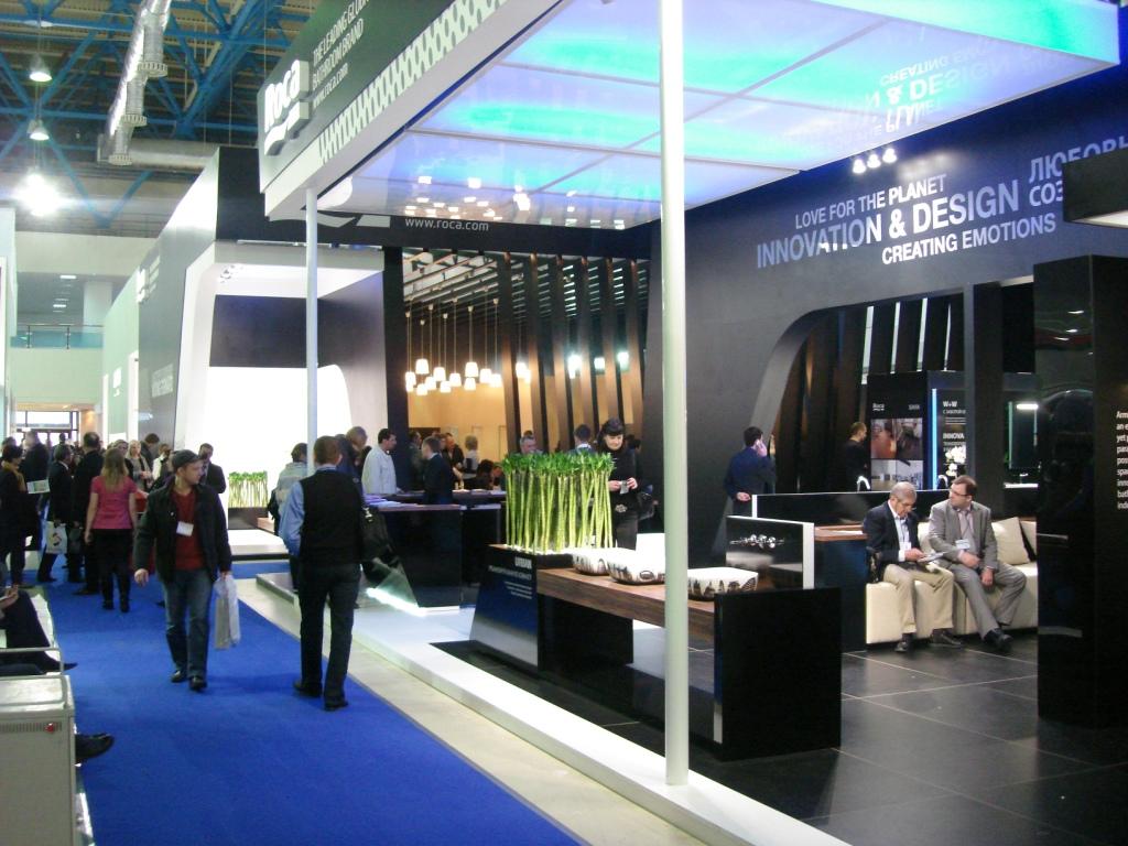Roca - выставка MosBuild 2012 фото компании МИР САНТЕХНИКИ-Челябинск -2