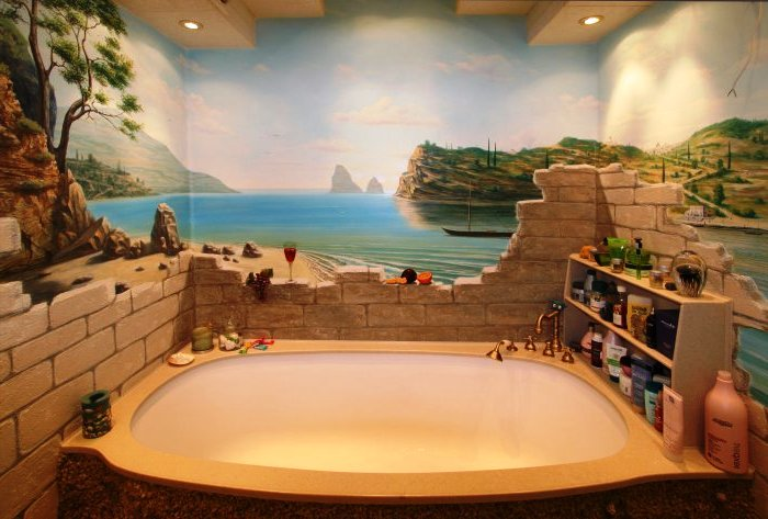 3d ванная комната