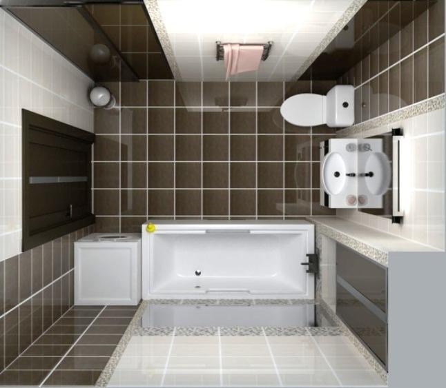 Ванная комната дизайн фото 4 кв м со