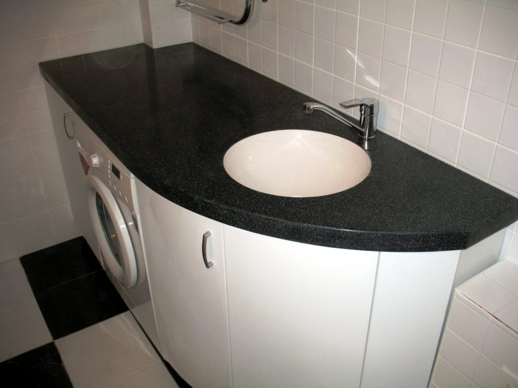 Прекрасный вариант когда стиральная