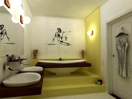 дизайн ванной комнаты (фото)