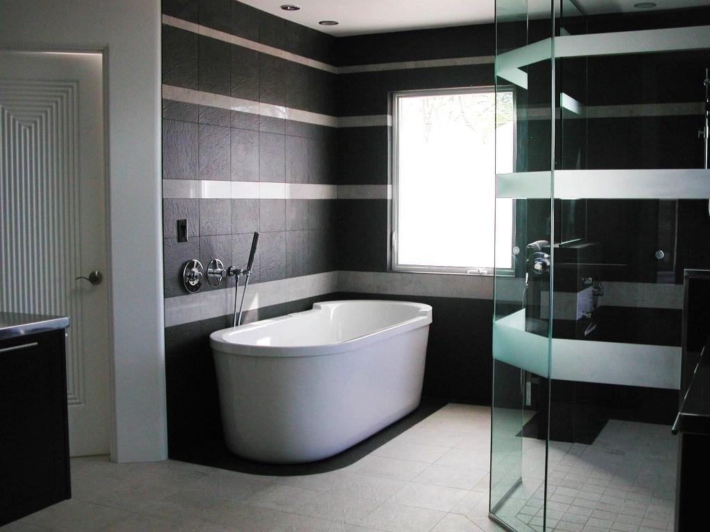 ванная комната - черный цвет