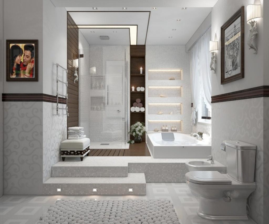 ванная комната - белый цвет