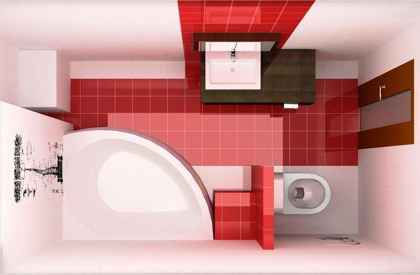 Ванная комната 7 кв дизайн