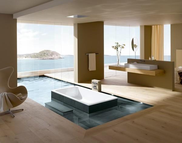 дизайн ванной - минимализм