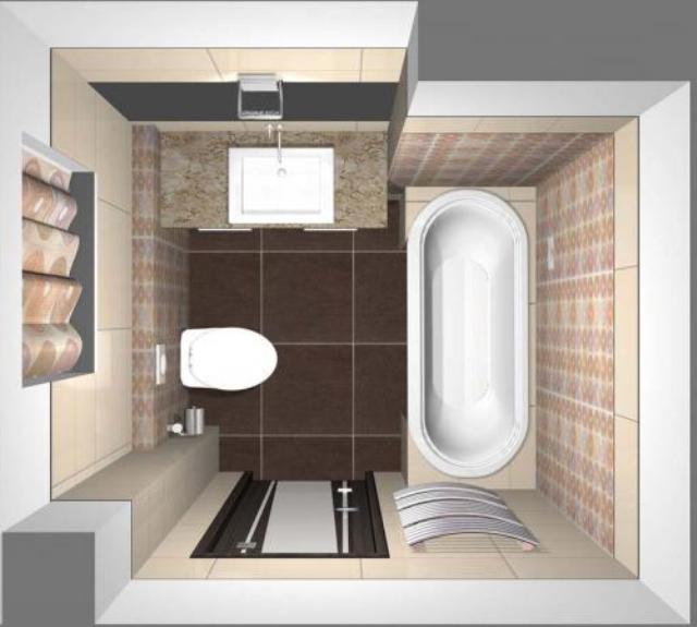 Размеры ванной угловой - 6