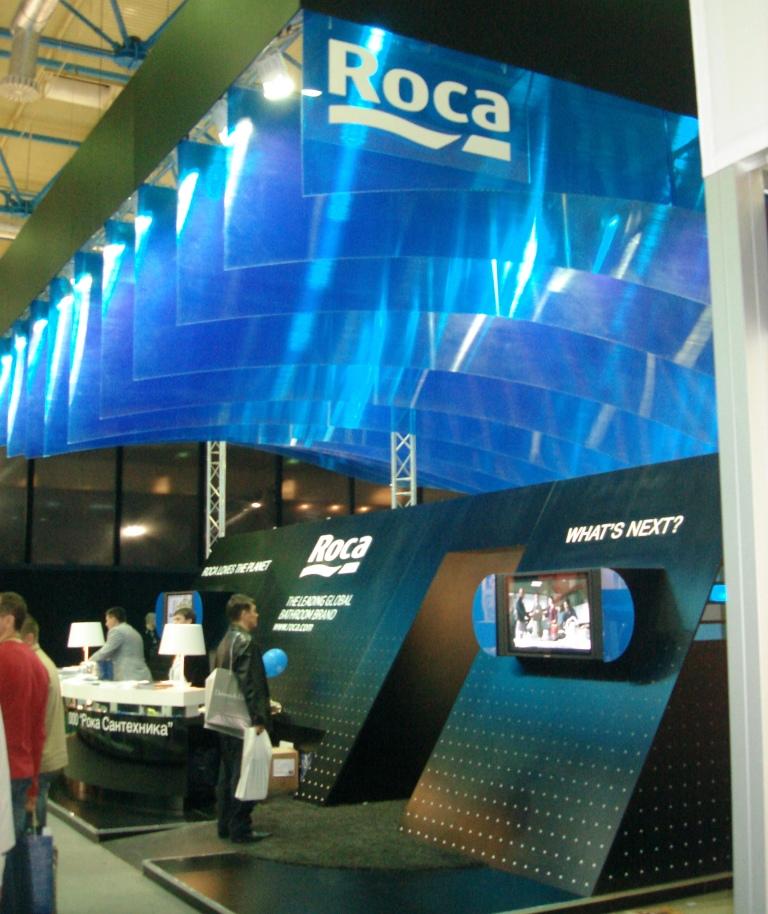 Roca - выставка MosBuild 2012 фото компании МИР САНТЕХНИКИ-Челябинск1