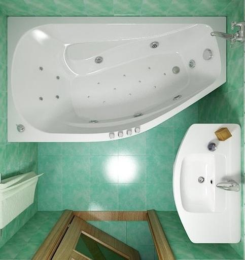 Дизайн ванная 6 кв м
